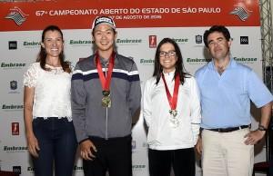 Jinbo Ha e Lauren Grinberg com Roberta Avery e Luiz Claudio Recchia 800