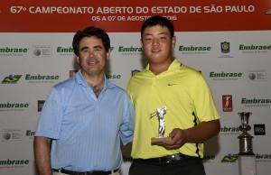 Thomas Choi com Luiz Claudio Recchia 800