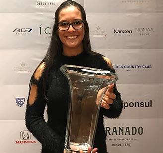 Lauren trofeu Graciosa