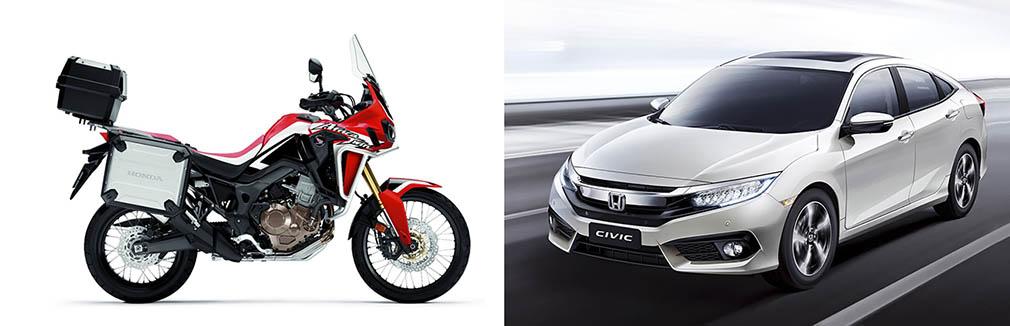 moto e carro 1010
