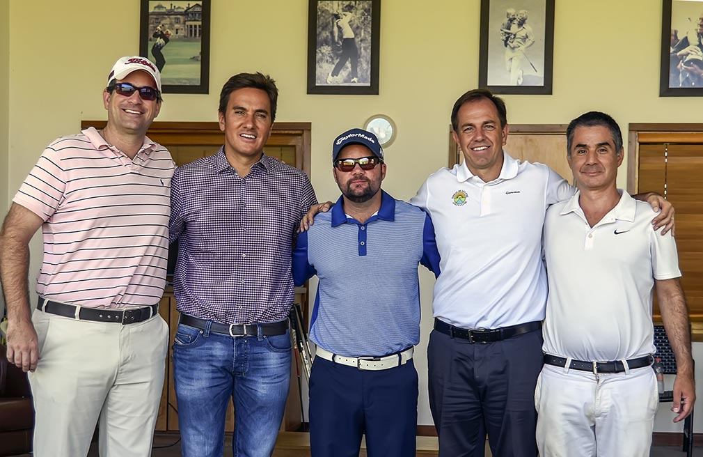 Ricardo Iverson, Andre Egoroff, Philippe Gasnier, Caco Cruz Lima e Ricardo Rossi 1010