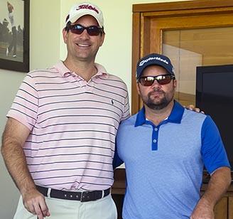 Ricardo Iverson e Philippe Gasnier na Jack Nicklaus Academy of Golf 328