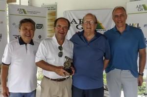 Gabriel Jacitho, com Chung, Ronald e Sachs