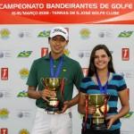 JInbo Ha e Beatriz JUnqueira campeoes