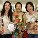podio ate 16 com Leticia MontSerra e Beth Tatsumi