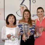 25,8 a 31,6 Elisabeth Yoshida, Catherine Duvignau e Maya Fabietti