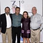 Rodrigo Somlo, Antonio Carlos Padula, Adelina Souza e Edson Santos