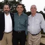 Rodrigo Somlo, Antonio Carlos Padula e Edson Santos