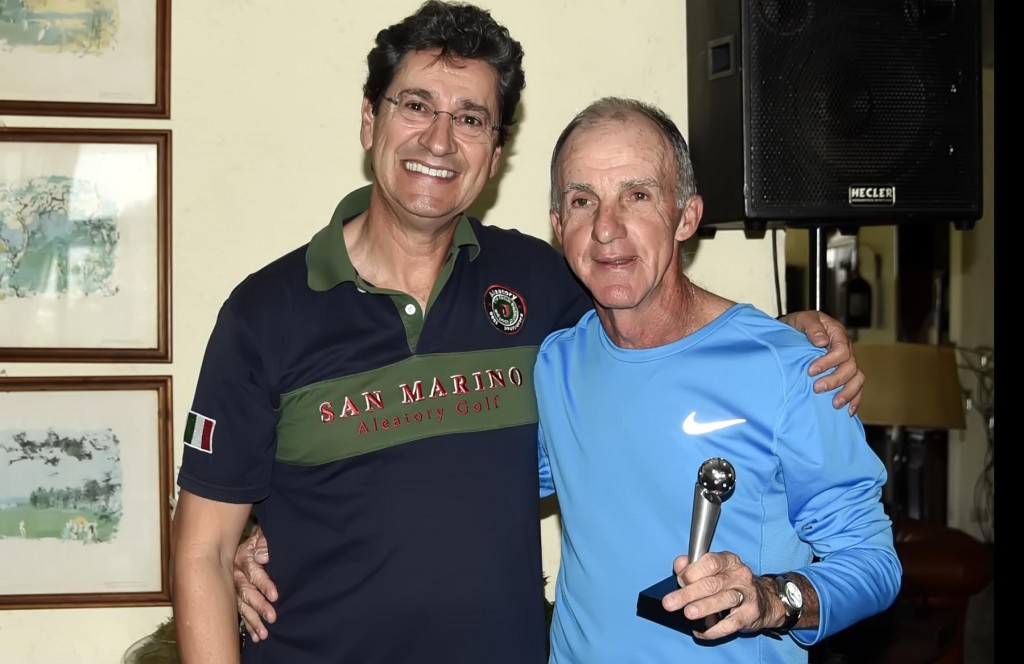 2o lugar Paulo Troyano com Ademir Mazon