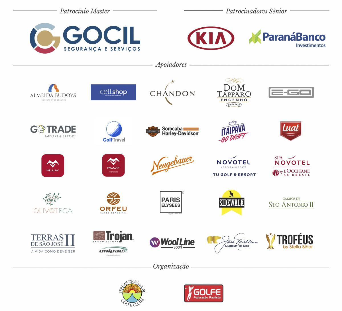 Patrocinadore TSJGC 2018