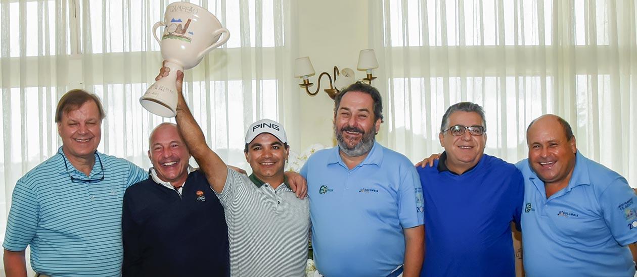 Antonio, Helio, NIlson, Rodrigo, Mauro e Miguelito.