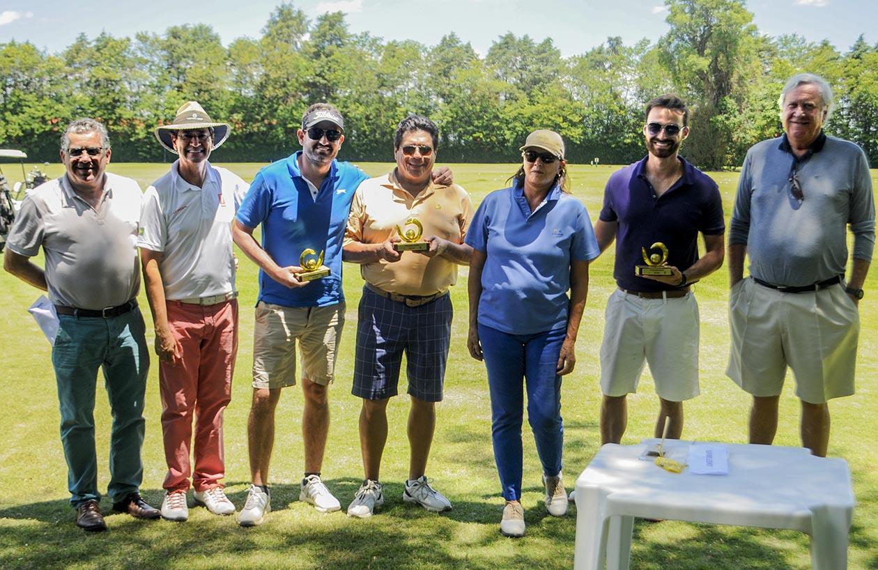 Equipe campea com Mauro Batista, Ademir Mazon, Maria Montserrat e Carlo Lovatelli