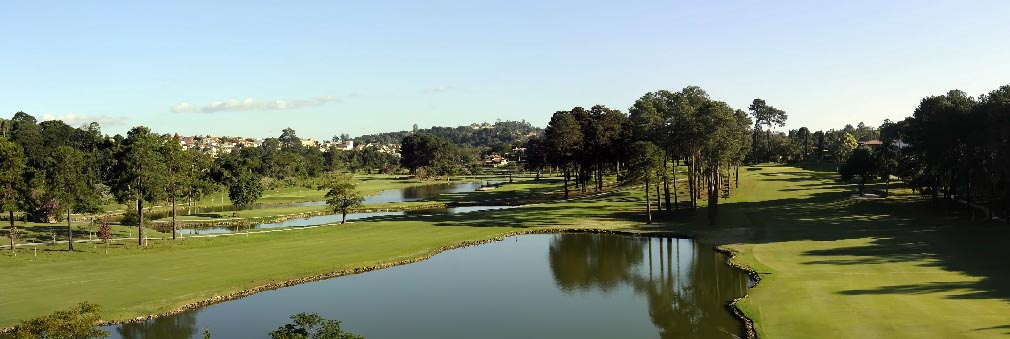 Vista do São Fernando Golf Club. Foto: Thais Pastor/F2 Comunicação