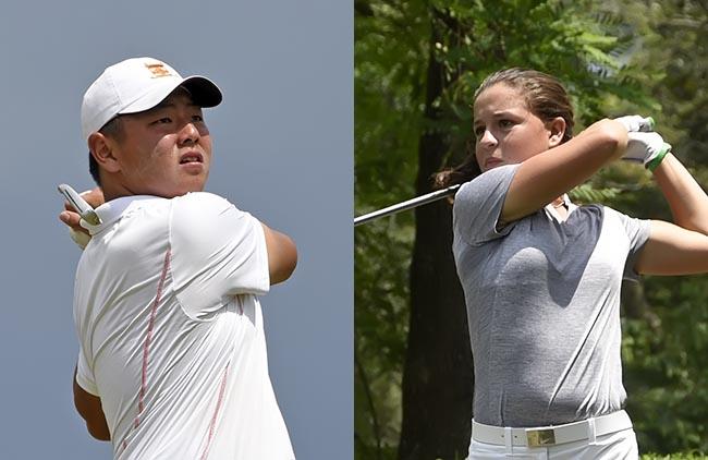 Thonas Choi e Fernanda Lacaz