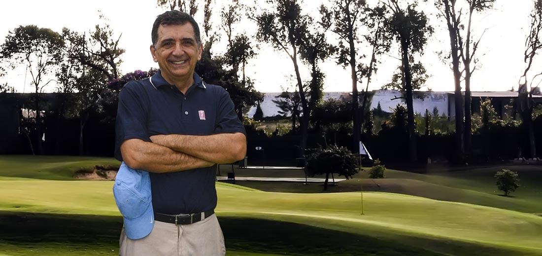Antônio Carlos Padula, presidente da FPG, no Honda Golf Center