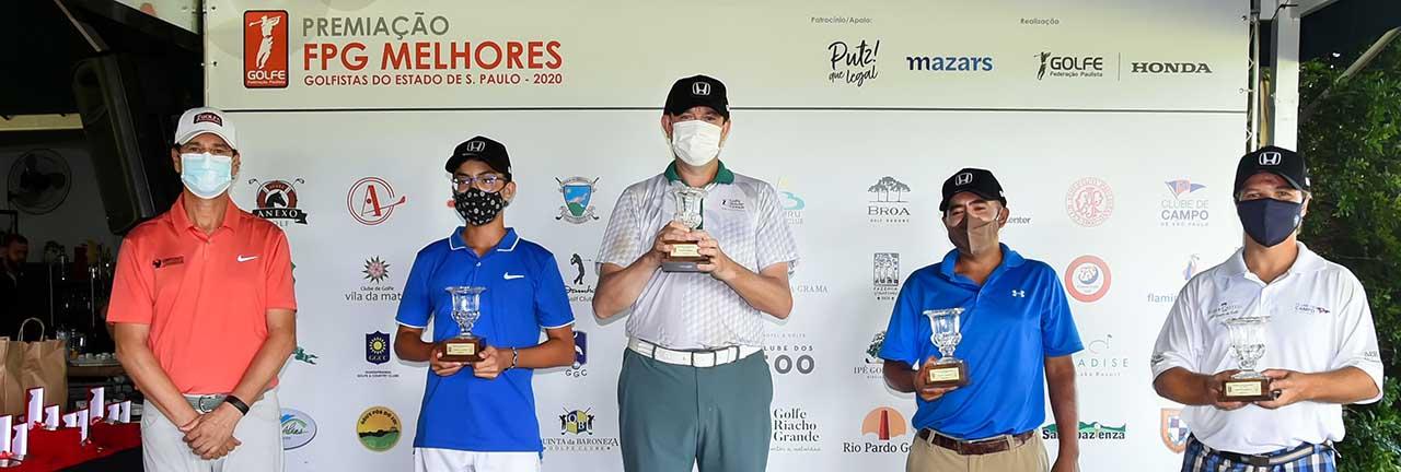 Ademir Mazon premia equipe campea com Pedro Miyata, Serginerio Vanderlinde, Fernando Vieira e Cassio Filizola 1280