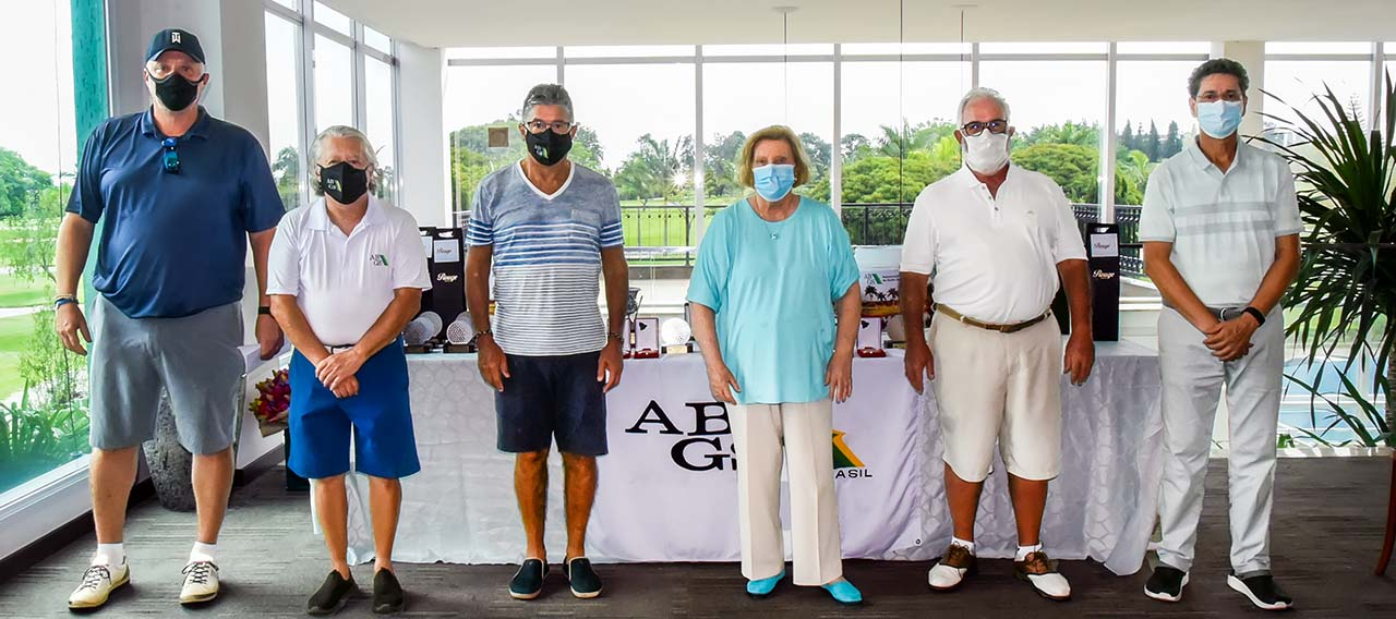 Diretoria da ABGS, com Vera Rossi e Ademir Mazon