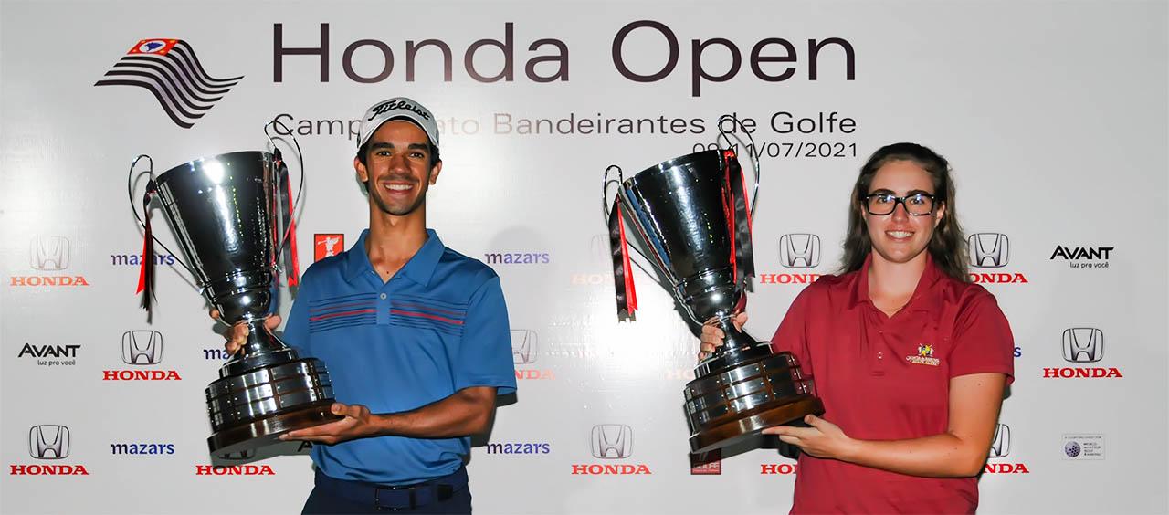 Renato da Silva Filho e Manu Barcellos vencem Honda Open Bandeirantes 1280